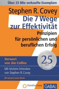 Finanziell umdenken - lesenswerte Bücher - Die sieben Wege zur Effektivität