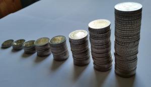 Die Macht der kleinen Schritte - Zwei Euro-Münzen sammeln