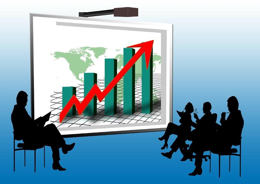 Mit Aktien zum finanziellen Wohlstand - Auwärtstrend Aktienmarkt - finanziell umdenken