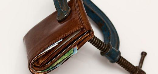 Durch Inflation wird das Geld weniger wert