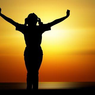 Lebensfreude und Glück