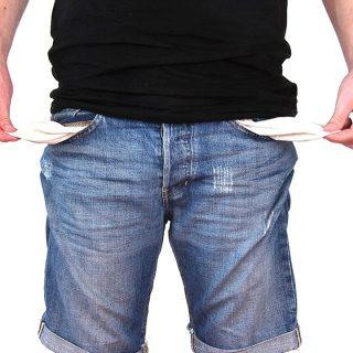Millionen Menschen verzichten auf viele tausend Euro - Armut und finanzielle Sorgen und Geldprobleme