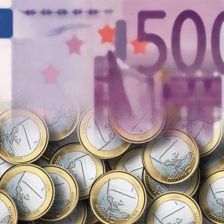 schnell verdientes Geld - Geld, Schein, Münzen, Euro