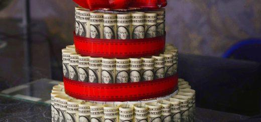 Geld und Vermögen sind begrenzt_Geld-Torte
