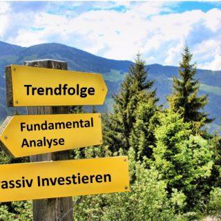 aktiveres Management bei Aktien - mehrere Investmentmöglichkeiten führen zum Ziel.