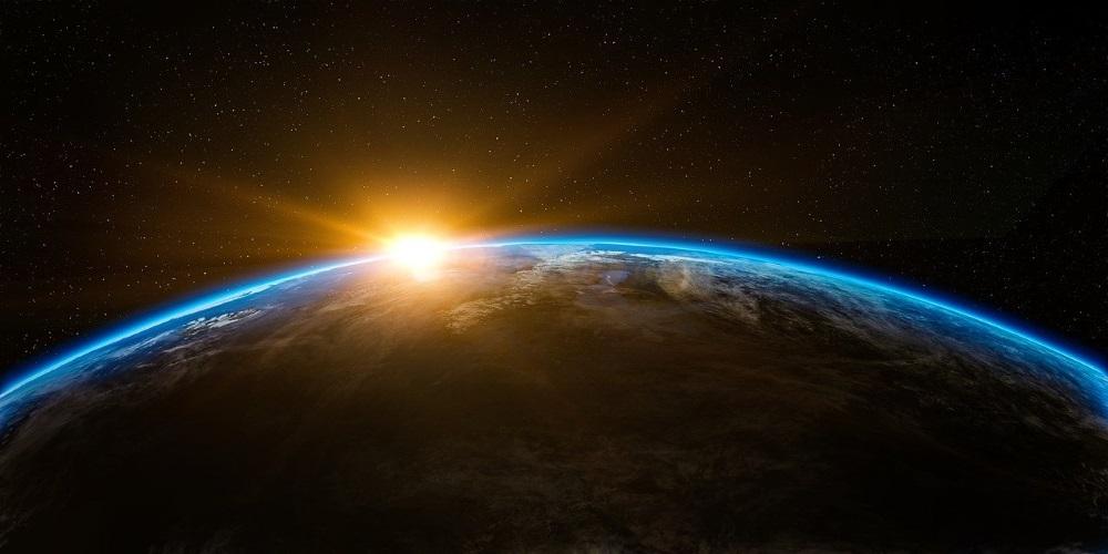 Die Welt nach der Coronavirus-Krise - Sonnenaufgang